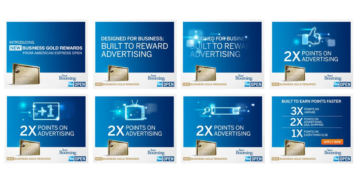 AmEx Display Ads
