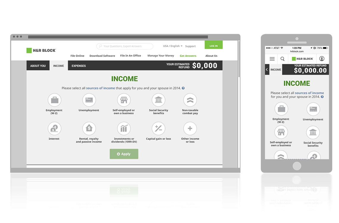 Income Screen