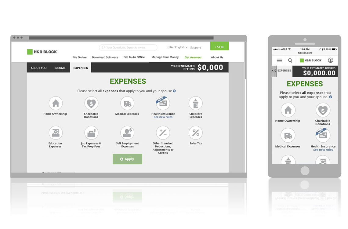 Expenses Screen