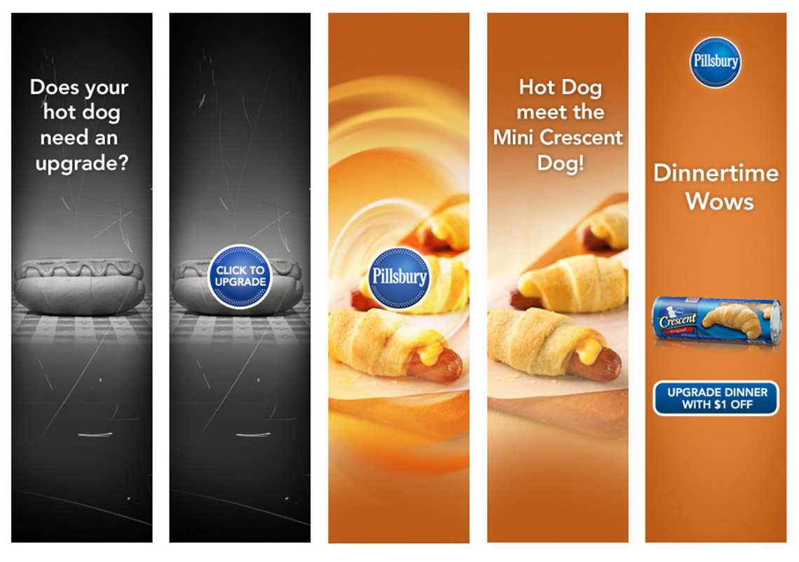 Pillsbury Crescents ad